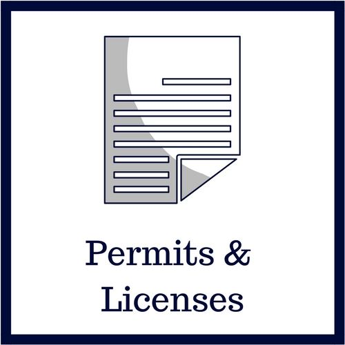 Permits and Licenses Information