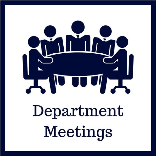 Department Meeting Information